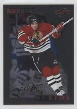 1995-96 Score Black Ice #110 Joe Murphy Chicago Blackhawks Hockey Card