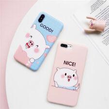 Korean Style iPhone X Case Cute Pig iPhone X Case Couple iPhone X Case