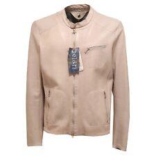2937O giubbotto DELAN tortora trattamento vintage giubbotti uomo jackets men