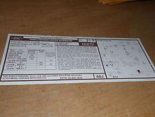 1979 FORD ECONOLINE CLUB WAGON 400 ENG EMISSIONS DECAL
