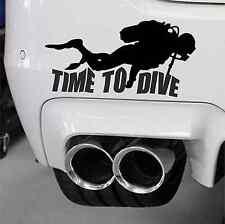 "Scuba Diving ""Time To Dive""  Nitrox Diver Cave Diving PADI Diver BSAC Diver"