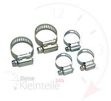 Edelstahl-Schlauchschelle W5 V4A 12 mm ⌀ 35-50 mm