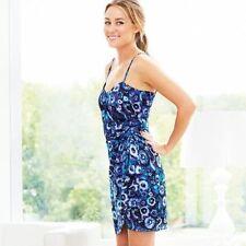 **sz 10 LC Lauren Conrad Draped Lined Zip Adjustable Strap Dress Tunic Tank Top