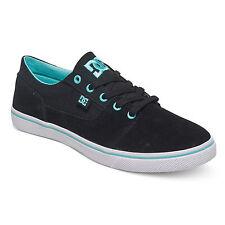 DC - Tonik W - Low Top Schuhe Black/Aqua (ba2) Damen Skateschuh Sneaker