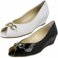 Van Dal Ladies Smart Peep-Toe Shoes Tampa