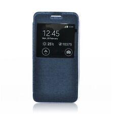 Sony Xperia Z5 Tasche Hülle Case Bookstyle Flex-View Fenster leicht dünn 4 Farbe