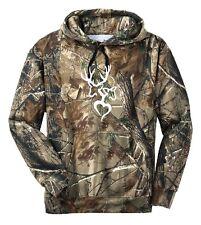 Deer Couple Heart Camo Hoodie Country Girl Buck Love Outdoor Hunt Gun Pink Lady
