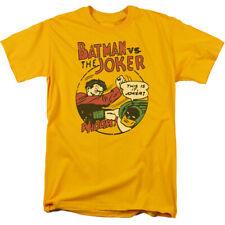 DC Comics Grudge Match Licensed Adult T Shirt