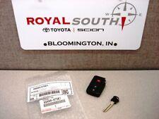 Toyota Prius Smart Key Remote Uncut New Genuine OEM OE