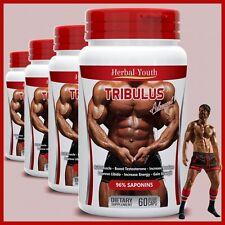 TRIBULUS TERRESTRIS 96% SAPONINS BIG MUSCLE TESTOSTERONE BOOSTER PILLS CAPSULES