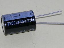 2200uf/35V Radial -105 Degree C