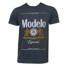 Modelo Especial Grey Logo Tee Shirt Blue