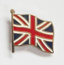 UNION JACK FLAG LAPEL PIN OR WALKING STICK MOUNT