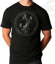 Metallica James Hetfield Coin T shirt by V.K.G.