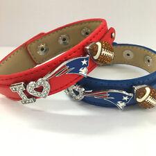 I love New England patriots rhinestone bracelet / patriots