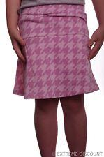 Girls Pink Skirt Skort Stretch Scooter Cotton Checker 6 6X 10 12 14 16 Plus NEW