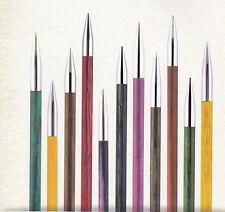 8,0 mm Zing Nadelspitzen normale Länge ~ 115 mm von 3,0 mm Knit pro