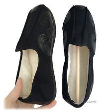 Warm Winter Taoist Tai chi Kung fu Shoes Wushu Wing Chun Martial arts Sneakers