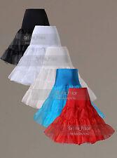 High Waist Swing Vintage Prom Crinoline Petticoat Womens Skirts Silps TUTU 50s