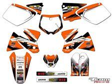 2008-2010 KTM XCF XCW 125 200 250 300 450 525 530 GRAPHICS SET DECO DECALS 2009