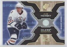 2006-07 SPx Spectrum #39 Ales Hemsky Edmonton Oilers Hockey Card