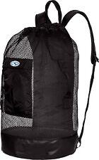 Stahlsac Panama Scuba Diving Travel Mesh Backpack Gear Bag Black NEW