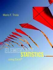 Elementary Statistics Using Excel (5th Edition) by Triola, Mario F.