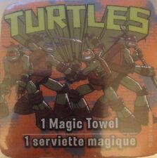 """Dora, Sponge Bob,Teenage Mutant Ninja Turtles, TMNT 11"""" X 11"""" Magic Towel"""