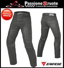 Jeans Dainese Kansas 1S Nero Spalmato Moto Pants