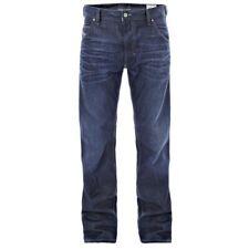 Diesel Krooley 0073N Men's Blue Regular Slim Carrot Straight Leg Jeans Trousers