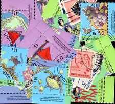COCOS KEELING collections de 10 à 100 timbres différents
