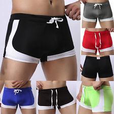 UK Mens Boxer Trunks Briefs Adults Swimming Swim Shorts Swimwear Pants Underwear