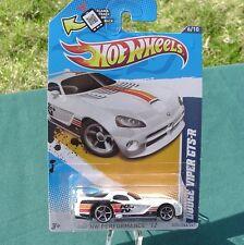 2012 Hot Wheels: Dodge Viper GTS-R. White Version. K&N. 144/247  NEW!