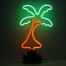 néon BARRE PANNEAU PUB tropical Palmier bureau Conservatoire lampe chevet clair