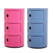 Habitat Cylinder 3 Shelf Chest 3 Drawer Children's Kids Storage Box Toy Box