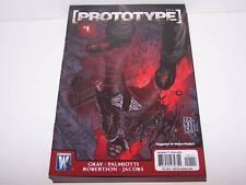 Signiert Jim Palmiotti Prototype #1 Xbox 360 PS3 Comic