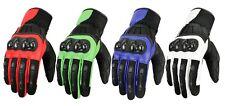 Sommer Motorradhandschuhe Motorrad Handschuhe schwarz Gr. XS S M L XL XXL,XXXL