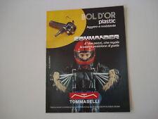 advertising Pubblicità 1974 COMANDI TOMMASELLI BOL D'OR