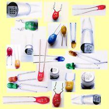 Tantale polymère Elko Condensateur Perle Goutte Radial SMD 0,1 UF - 220 µF - 50 V