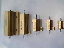Range of Aluminium Clad Wirewound Resistors 5w - 25w    0.05 - 3.3k Ohm MBG013