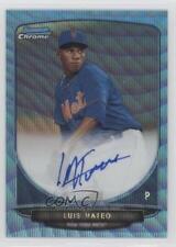 2013 Bowman #BCA-LMA Luis Mateo New York Mets Auto Autographed Baseball Card