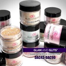 Glam and Glits Nail Design Diamond Acrylic Powder 1oz *Choose any one*43-90