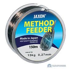 150m ANGELSCHNUR JAXON METHOD & FEEDER, KARPFENSCHNUR, MONOFILE SCHNUR, LINE