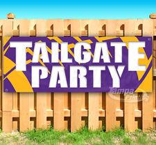 TAILGATE PARTY Advertising Vinyl Banner Flag Sign Many Sizes NFL VIKINGS