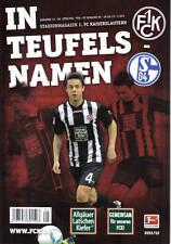 Programm Stadionheft 11/12 1.FC Kaiserslautern FC Schalke 04 FCK Teufels Namen