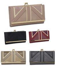 Ladies Boxed Fashion Long Wallet Purse Card Phone Holder Clutch Handbag Case 118