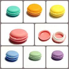 Kawaii pastel macaron trinket jewellery storage box cute mini macaroon