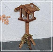 Vogelhaus 8,4 cm für Krippe Krippenzubehör Krippendeko
