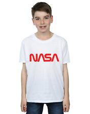 NASA Bambini e ragazzi Modern Logo Maglietta