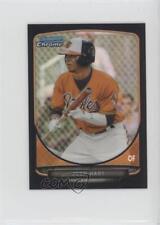 2013 Bowman Chrome Minis Black Refractor #254 Josh Hart Baltimore Orioles Card